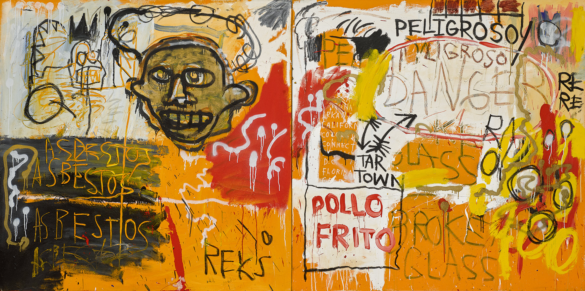 Four Works by Jean,Michel Basquiat Chart the Artist\u0027s