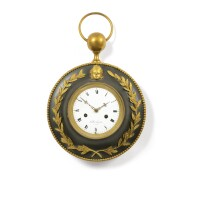 8. a patinated and gilt-bronze bracket clock, french, first quarter 19th century