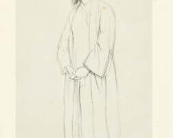 6. sir william rothenstein | untitled (rabindranath tagore)