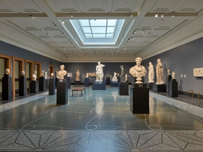 Gallery 207: Roman Sculpture, Getty Villa, Malibu