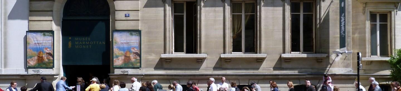 Exterior view of the Musée Marmottan Monet.