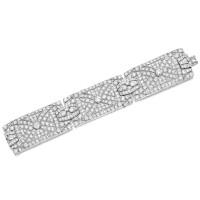 1628. diamond bracelet