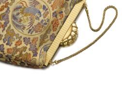 1. gold and diamond evening bag, cartier, 1950s