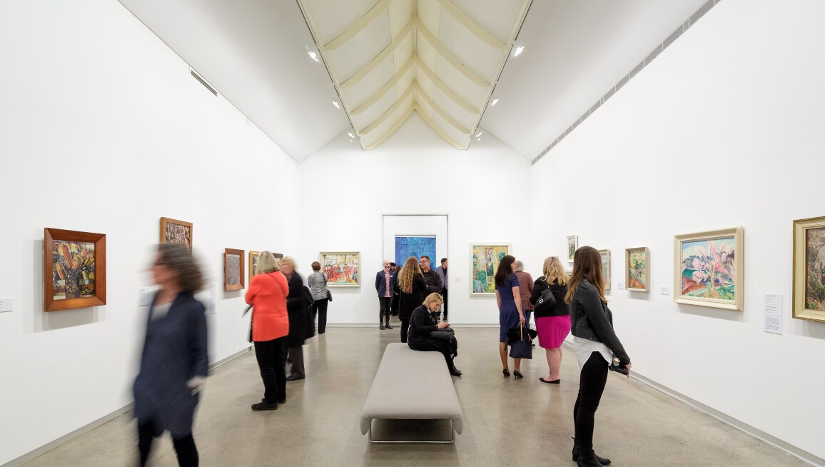 Interior View, Heide Museum of Modern Art