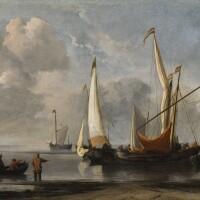 19. Style of Willem Van de Velde the Younger