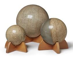 32. three planetary globes
