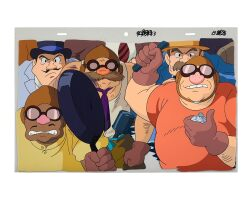 1034. porco rosso by studio ghibli   united air pirates animation cel