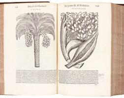 21. mattioli, i discorsi... nelli sei libri di dioscoride, venice, 1585, later calf