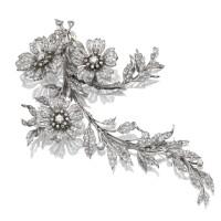 22. diamond corsage ornament