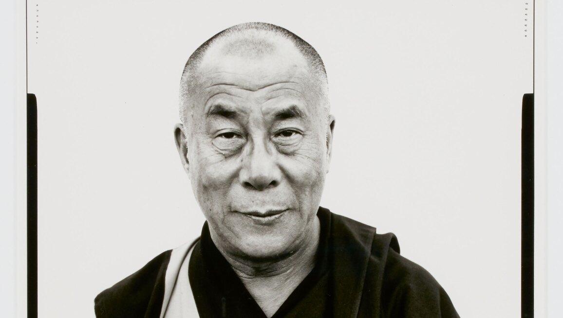 Richard Avedon, His Holiness The Dalai Lama, Kamataka, India, January 1998