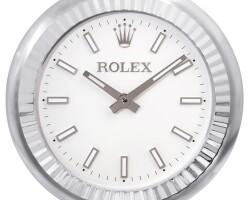 2002. 勞力士 | 精鋼掛鐘,約2000年製。