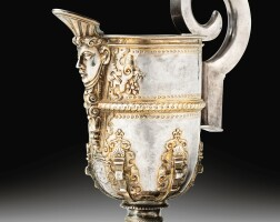 5. a spanish parcel-gilt silver ewer,circa 1600,with the bishop fonsecacoat-of-arms | a spanish parcel-gilt silver ewer,circa 1600,with the bishop fonsecacoat-of-arms