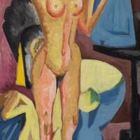 8. 恩斯特・路德維希・基希納 | 《照鏡裸女》
