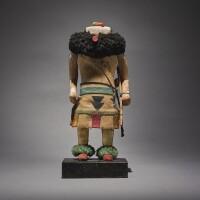 6. a zuni polychromed wood kachina figure |