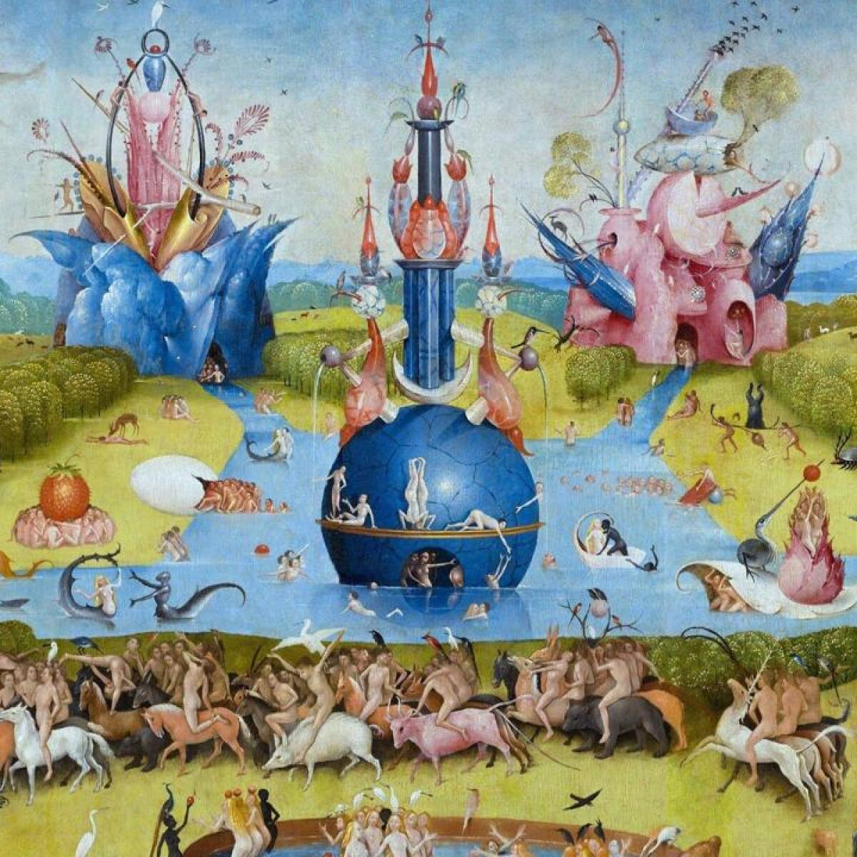 Hieronymus Bosch's 'The Garden of Earthly Delights', A Journey ...