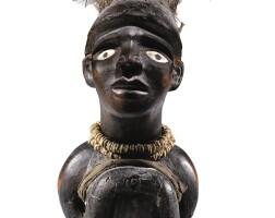137. statuette, vili, république démocratique du congo  