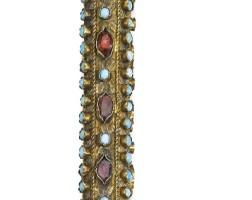147. an ottoman gem-set and silver-gilt sceptre, turkey, 18th/19th century