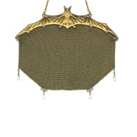 37. emerald, pearland diamond evening bag, lacloche frères, circa 1905