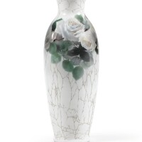 10. a russian porcelain vase, imperial porcelain manufactory, st petersburg, period of nicholas ii, dated 1913 |