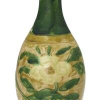 306. asancai 'peony' vase,yuhuchunping liao dynasty  