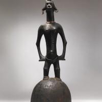 9. senufo or bamana female figure,côte d'ivoire