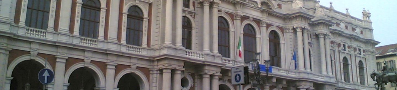 Exterior view of the Museo Nazionale del Risorgimento in Turin.