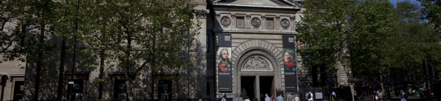 Exterior View, National Portrait Gallery
