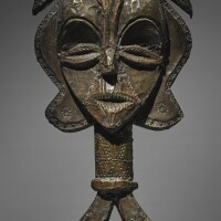 110. kota-obamba reliquary figure, gabon