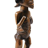 139. statue, luba shankadi, république démocratique du congo  