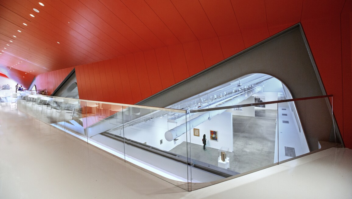 Interior View, Berkeley Art Museum and Pacific Film Archive
