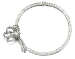 143. diamond necklace