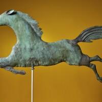 1243. flying horseattributed towilliam f. tuckerman1816-1871 | flying horseattributed towilliam f. tuckerman1816-1871