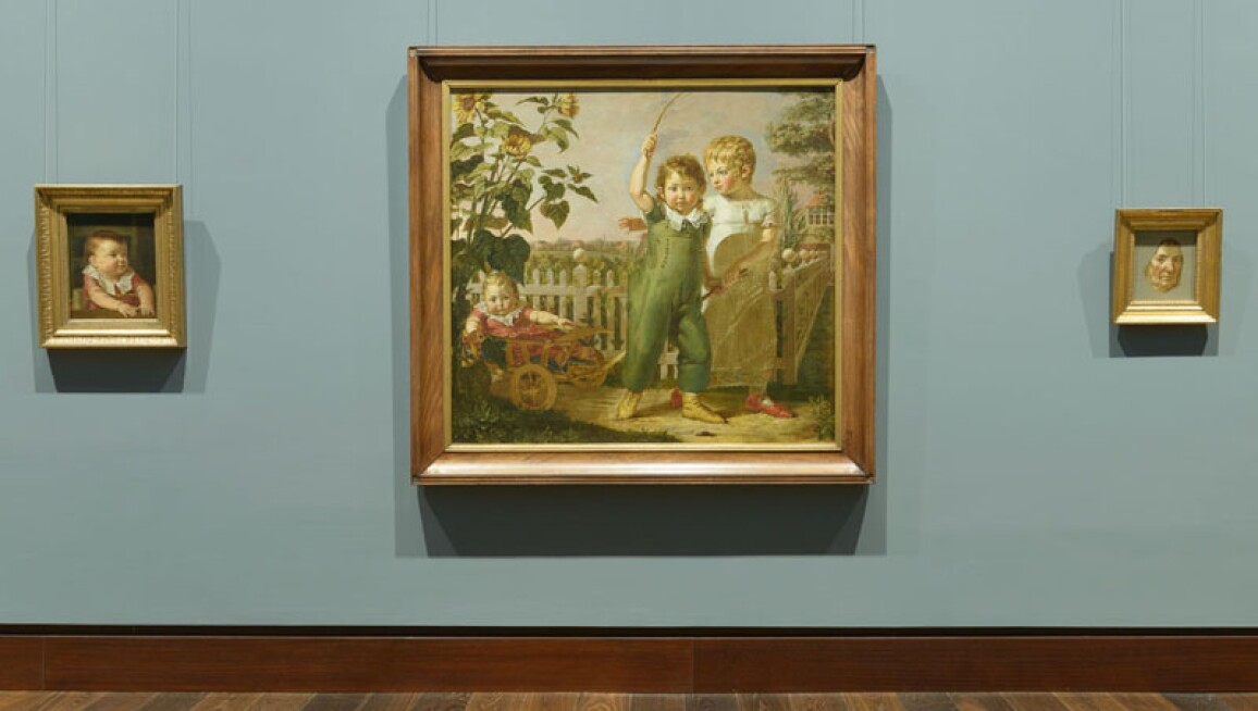 19th century collection at the Hamburger Kunsthalle with works by Philipp Otto Runge