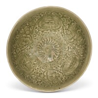303. a yaozhou celadon 'chrysanthemum' bowl northern song dynasty |