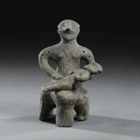 1. avinčaterracotta figure of a woman, neolithic period, vinča-pločnik-phase, 5000-4500 b.c. | avinčaterracotta figure of a woman