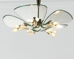 18. italian   chandelier, circa 1960