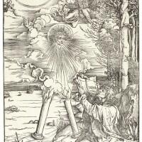 13. albrecht dürer | st. john devouring the book (b. 70; m., holl. 172)
