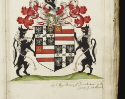 1. heraldic manuscript