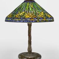 "209. tiffany studios | ""daffodil"" table lamp"