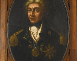 210. nelson,horatio lord--english provincial artist, after l.f. abbott