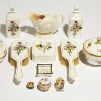 337. dressing table accessories, 20th century