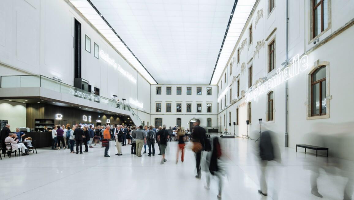 Interior View, Albertinum
