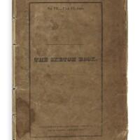 "22. crayon, geoffrey [washington irving]. ""the angler"" [in]: 'the sketch book of geoffrey crayon'. number vii. new york: c.s. van winkle, 1820"