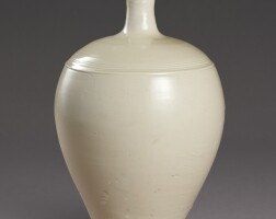 3002. a fine and rare dingyao vase incised guan mark, northern song – liao dynasty |