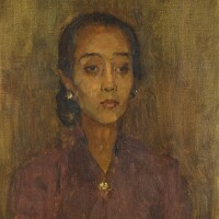 5. isaac israels | portrait of a javanese woman