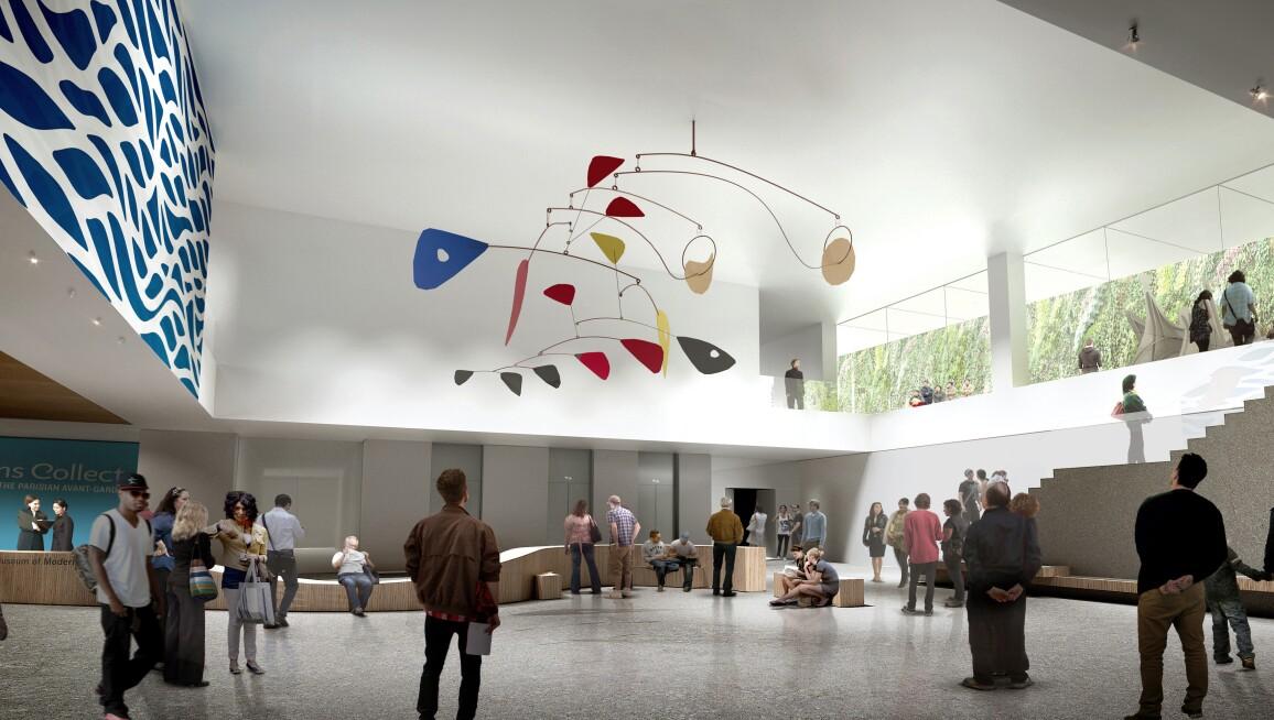 Interior View, San Francisco Museum of Modern Art