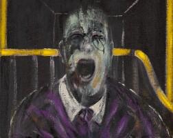 9. 弗朗西斯・培根 | 《頭像習作》