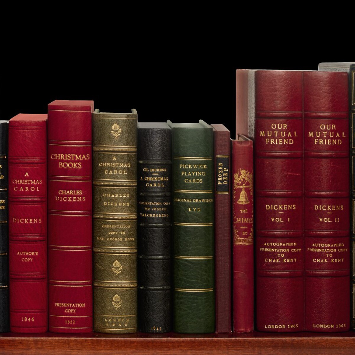A Comprehensive Collection of Charles Dickens Classics   Books &  Manuscripts   Sotheby's