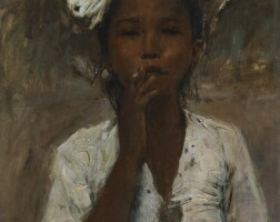 1107. 羅莫爾多·羅格泰利 | 女孩肖像