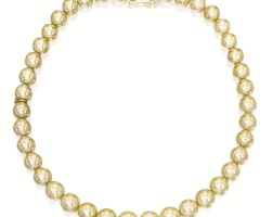 1602. cultured pearl necklace, mikimoto